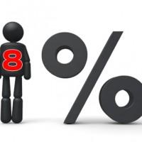 8%消費税アップ