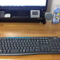肩凝り解消の為のキーボード配置