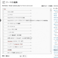 biz-vektorのgoogleアナリティクス編集画面